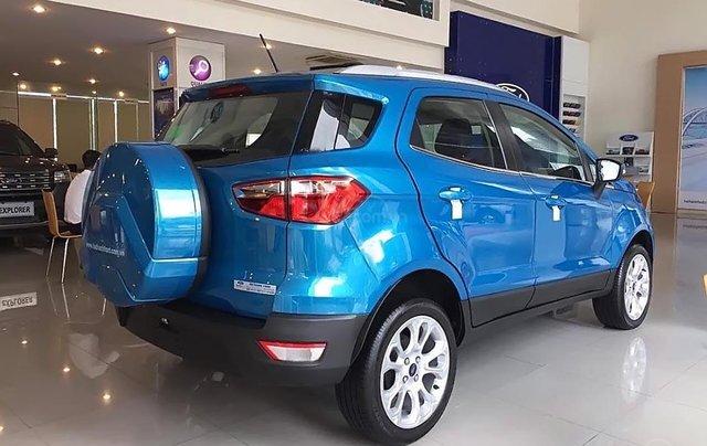 Bán xe Ford EcoSport Titanium 1.5L AT 2019, màu xanh lam, giá 605tr0