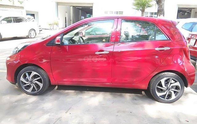 Bán xe Kia Morning AT đời 2019, màu đỏ, giá 355tr0