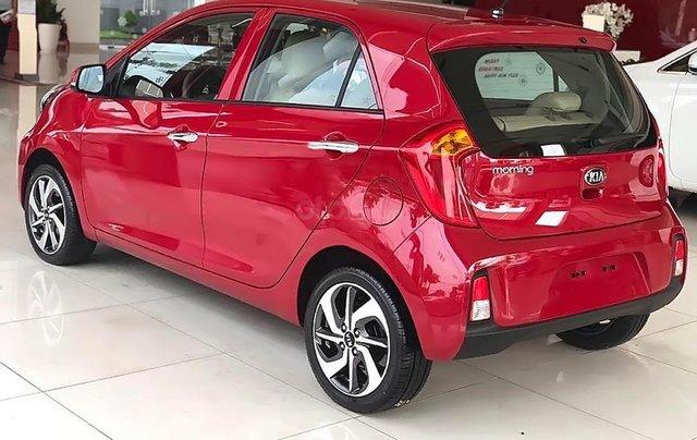Bán xe Kia Morning AT đời 2019, màu đỏ, giá 355tr1