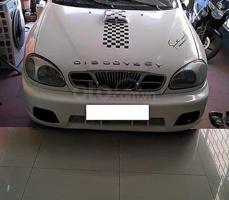 Bán gấp Daewoo Lanos 1.5 MT đời 2003, màu trắng, xe nhập0