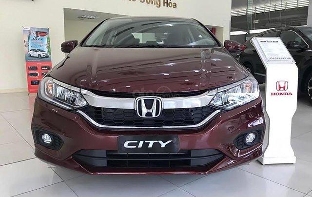Bán xe Honda City 1.5AT 2019, màu đỏ, giá chỉ 559 triệu2