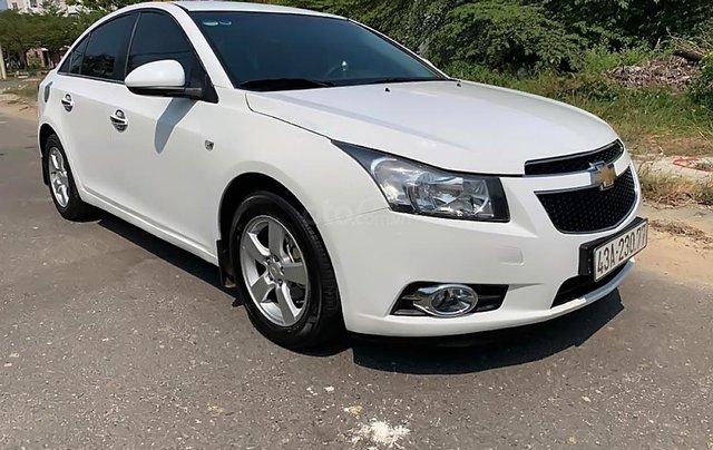 Cần bán lại xe Chevrolet Cruze 1.6 đời 2011, màu trắng 0