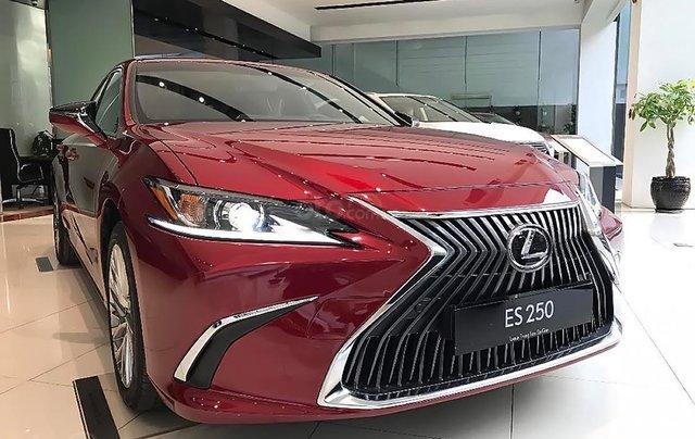 Bán ô tô Lexus ES 250 năm 2019, màu đỏ, nhập khẩu0