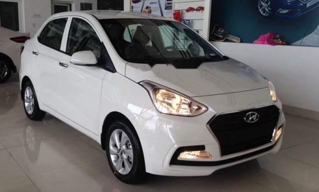 Bán xe Hyundai Grand i10 năm 2019, màu trắng1