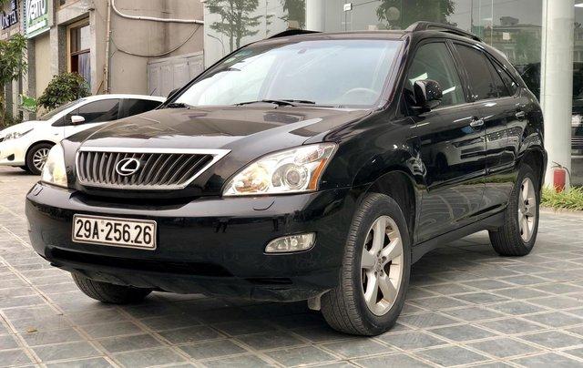 MT Auto bán Lexus RX 350 năm 2007, màu đen, xe nhập khẩu. LH em Hương 09453924689