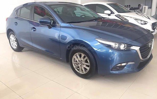 Bán ô tô Mazda 3 1.5 AT đời 2018, màu xanh lam0