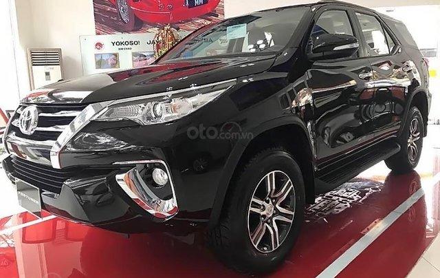 Bán Toyota Fortuner 2.7V 4x2 AT đời 2019, màu đen, nhập khẩu  0