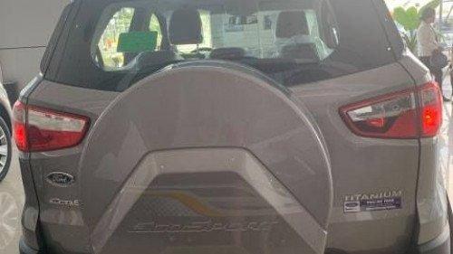 Bán xe Ford EcoSport 1.5 MT sản xuất năm 2018, màu bạc1