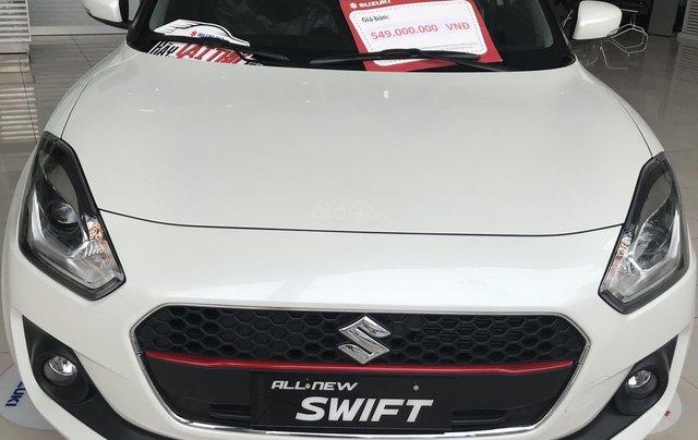 Cần bán Suzuki Swift 2019, màu trắng, nhập khẩu Thái0