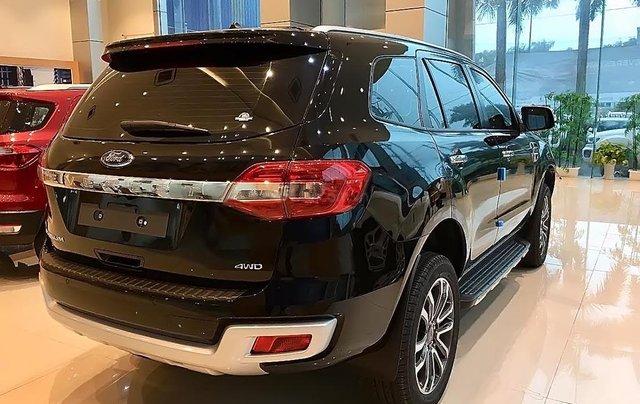 Bán Ford Everest Titanium 2.0L 4x4 AT 2019, màu đen, nhập khẩu  1