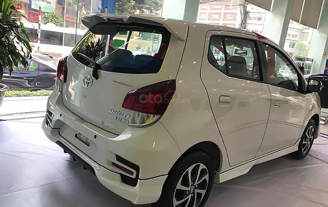 Cần bán Toyota Wigo 1.2G MT năm sản xuất 2019, màu trắng 1