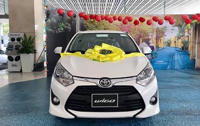 Cần bán Toyota Wigo 1.2G MT năm sản xuất 2019, màu trắng 0