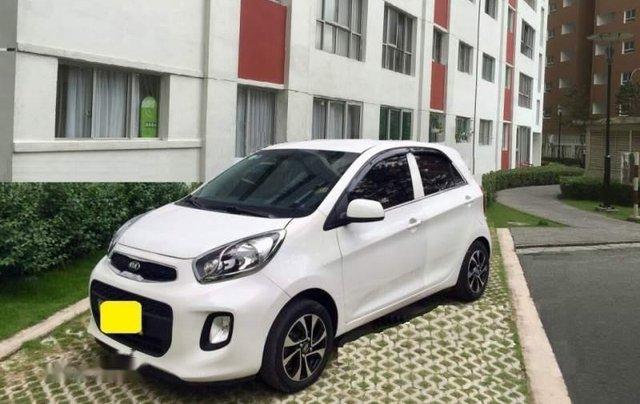 Cần bán xe Kia Morning đời 2017, màu trắng, xe nhập còn mới0