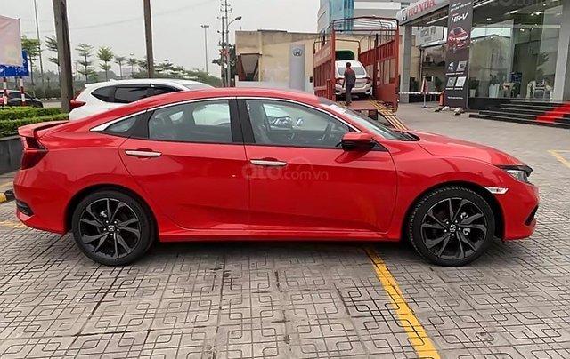 Bán xe Honda Civic RS 2019, màu đỏ, nhập khẩu0
