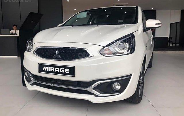 Bán Mitsubishi Mirage đời 2019, màu trắng, xe nhập, 451 triệu1