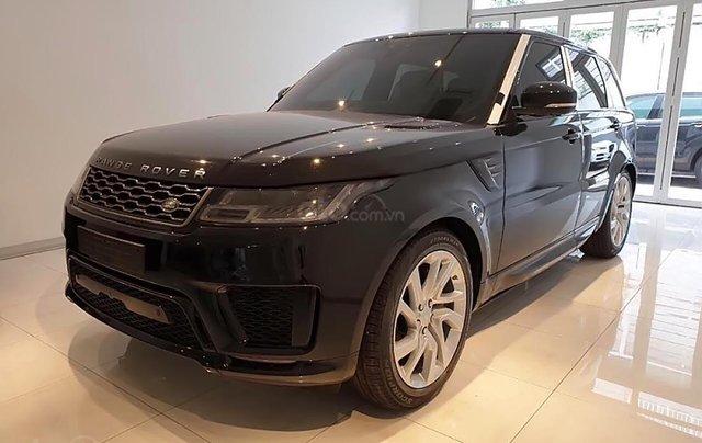 Bán ô tô LandRover Range Rover Sport HSE 2019, màu đen, mới 100%1