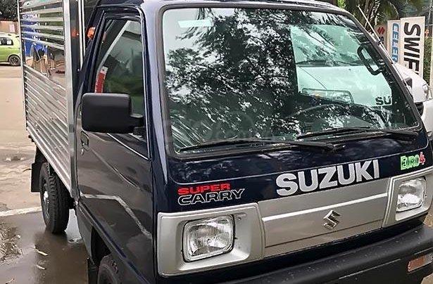 Bán xe Suzuki Super Carry Truck sản xuất năm 2019, màu xanh lam, chất lượng Nhật Bản0