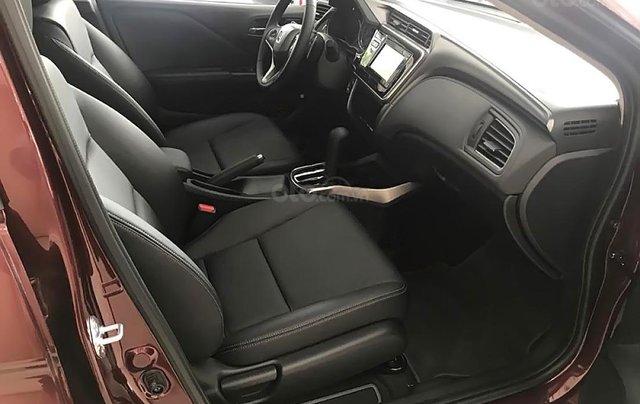 Bán Honda City 1.5CVT đời 2019, màu đỏ, giá 599tr3