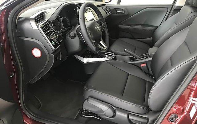 Bán Honda City 1.5CVT đời 2019, màu đỏ, giá 599tr1