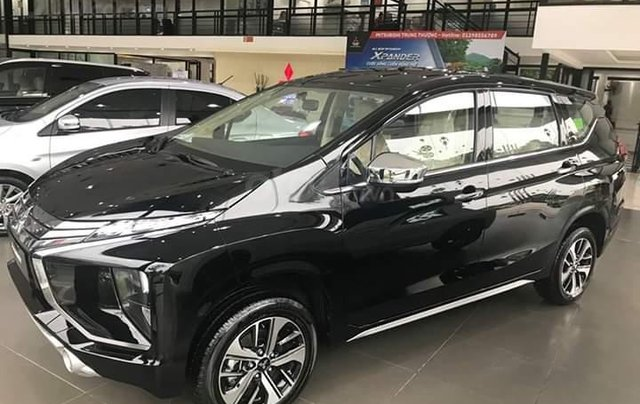 Bán Mitsubishi Xpander năm sản xuất 2019, màu đen, xe nhập khẩu 100% indonesia4