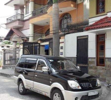 Bán Mitsubishi Jolie đời 2005, màu đen xe gia đình4