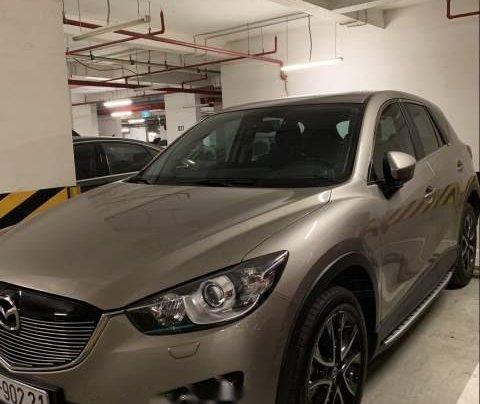 Cần bán gấp Mazda CX 5 năm 2015, màu xám còn mới0