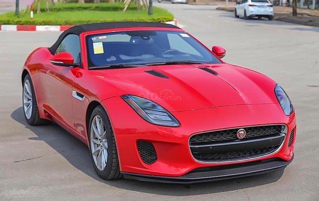 Bán xe Jaguar F Type S 3.0 V6 2019, màu đỏ, nhập khẩu nguyên chiếc0
