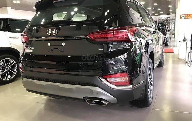 Bán Hyundai Santa Fe 2.4L HTRAC năm 2019, màu trắng1
