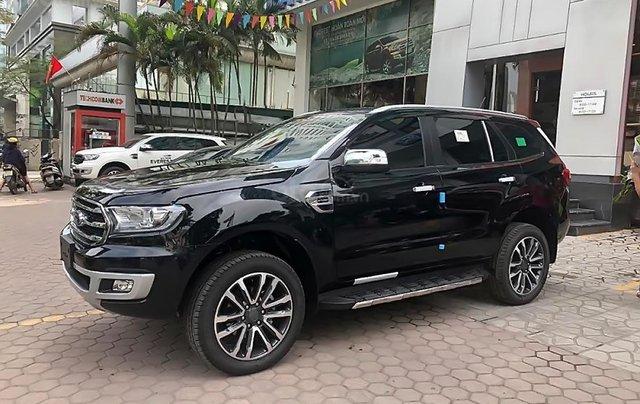Bán xe Ford Everest Bi Turbo đời 2019, màu đen, nhập khẩu0