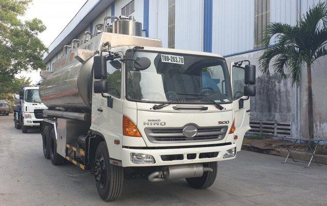 Xe Bồn Hino FM 19 khối - Chuyên chở xăng dầu, hóa chât, chất lỏng công nghiệp3