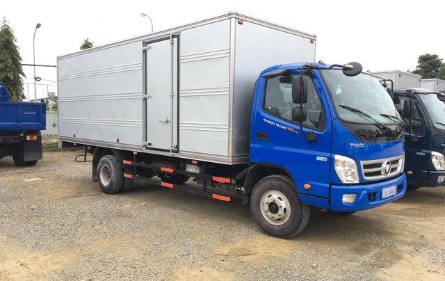Xe tải Thaco Auman C160. E4 tải trọng 9.1 tấn Trường Hải thùng dài 7,4m ở Hà Nội5