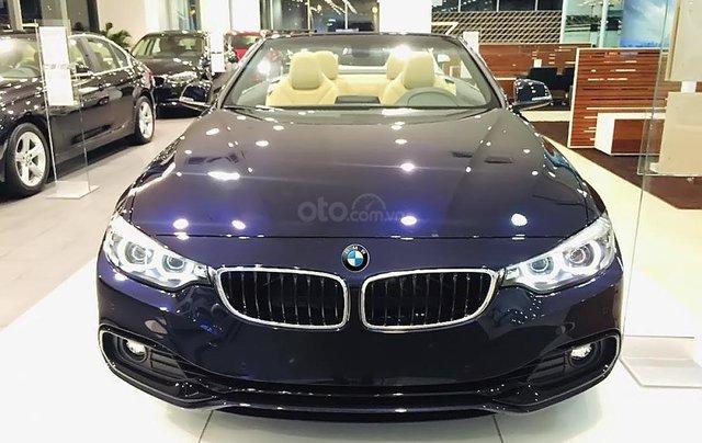 Bán xe BMW 420i Convertible mui trần mới 100%, số tự động, xe 2 cửa, 4 chỗ0
