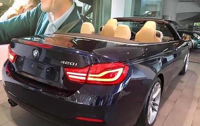 Bán xe BMW 420i Convertible mui trần mới 100%, số tự động, xe 2 cửa, 4 chỗ1