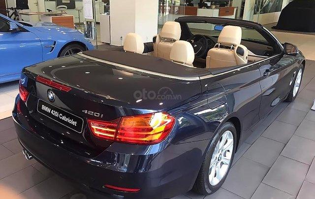 Bán xe BMW 420i Convertible mui trần mới 100%, số tự động, xe 2 cửa, 4 chỗ4
