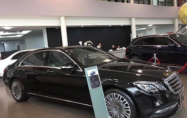Cần bán xe Mercedes S450L năm 2019, màu đen, giá tốt1