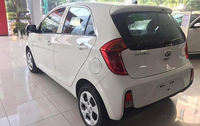 Bán Kia Morning EXMT 1.25 sản xuất năm 2019, màu trắng, giá 299tr1