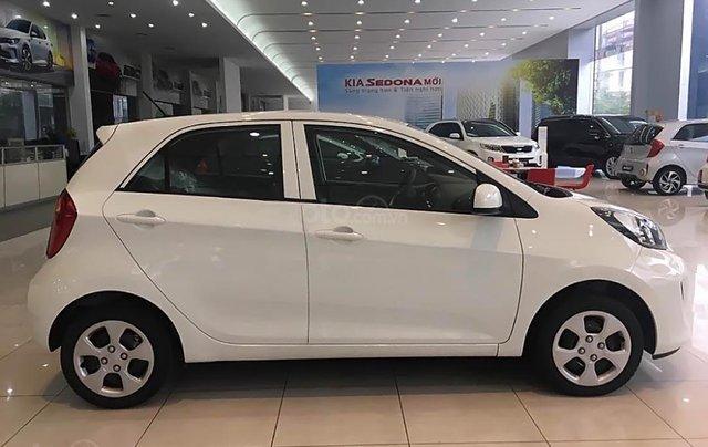 Bán Kia Morning EXMT 1.25 sản xuất năm 2019, màu trắng, giá 299tr0