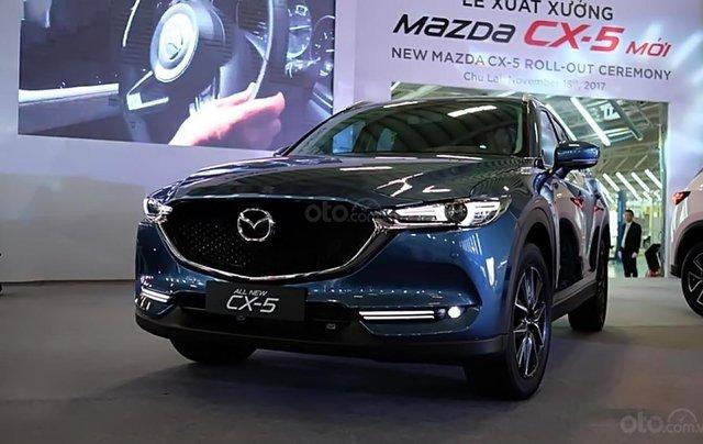 Bán xe Mazda CX 5 2.5 AT 2WD năm 2018, màu xanh lam1