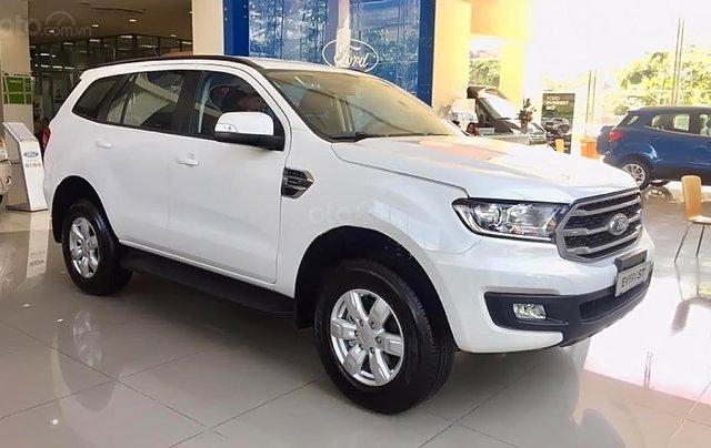 Bán xe Ford Everest Ambiente 2.0 4x2 AT đời 2019, màu trắng, nhập khẩu nguyên chiếc, giá tốt4