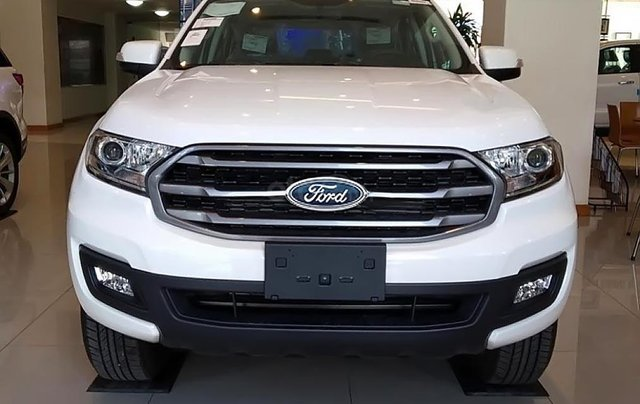 Bán xe Ford Everest Ambiente 2.0 4x2 AT đời 2019, màu trắng, nhập khẩu nguyên chiếc, giá tốt0