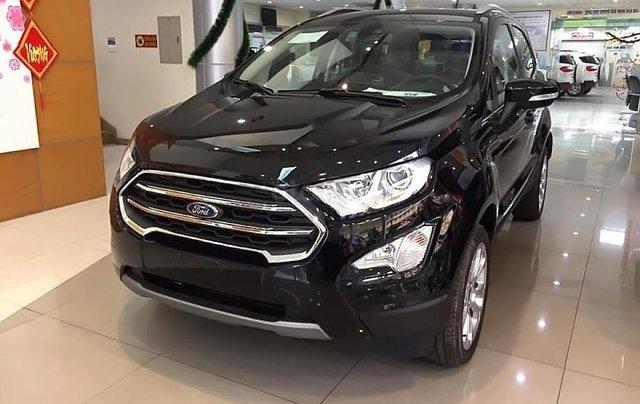 Bán Ford Everest Ambiente 2.0 4x2 AT đời 2019, màu đen, mới 100%0