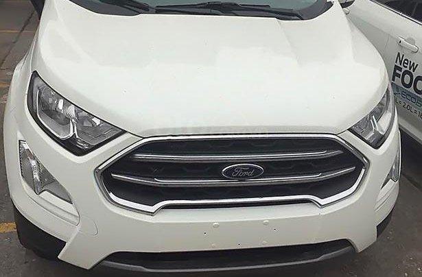 Bán ô tô Ford EcoSport Titanium 1.5L AT 2019, màu trắng, giá chỉ 600 triệu0