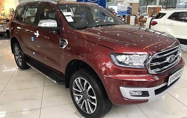 Bán xe Ford Everest Titanium 2019, màu đỏ, nhập khẩu nguyên chiếc1