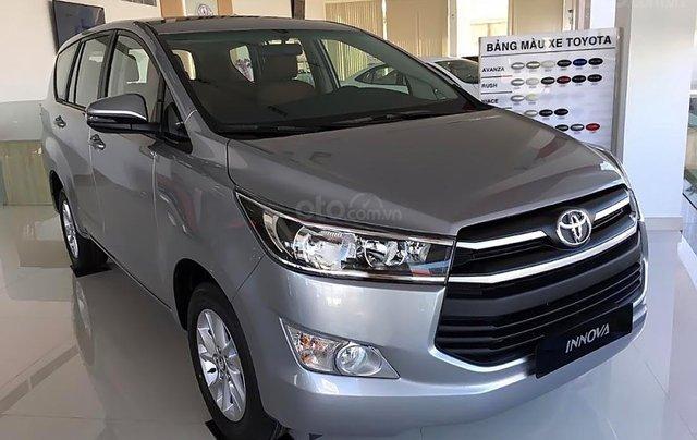 Bán Toyota Innvoa 2.0E 2019 giao xe ngay, rẻ nhất Sài Gòn tại Toyota An Thành Fukushima0
