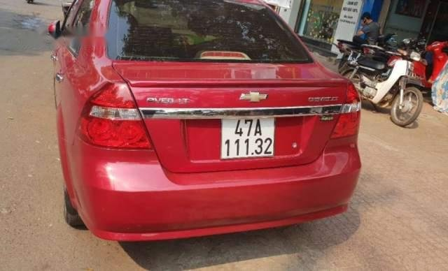 Gia đình bán Chevrolet Aveo đời 2015, màu đỏ, nhập khẩu0