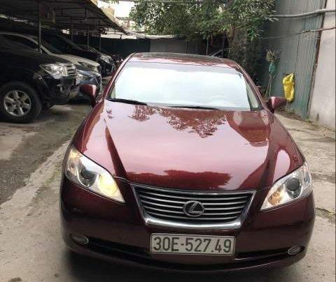 Chính chủ bán Lexus ES 350 sản xuất 2007, màu đỏ, nhập khẩu nguyên chiếc, 650tr0