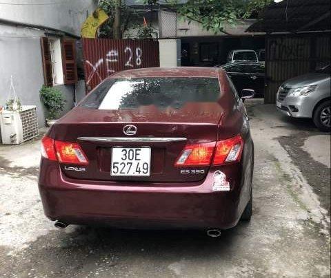 Chính chủ bán Lexus ES 350 sản xuất 2007, màu đỏ, nhập khẩu nguyên chiếc, 650tr1