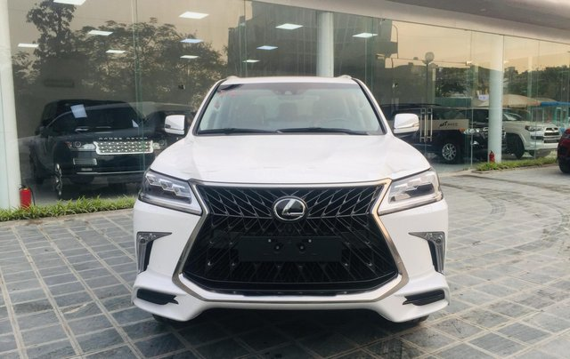 MT Auto bán xe Lexus LX570S Super Sport sx 2019, màu trắng, xe nhập khẩu Trung Đông, giá tốt - LH: Em Hương: 09453924680