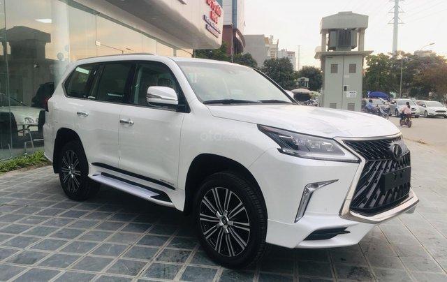 MT Auto bán xe Lexus LX570S Super Sport sx 2019, màu trắng, xe nhập khẩu Trung Đông, giá tốt - LH: Em Hương: 09453924682