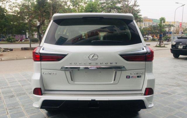 MT Auto bán xe Lexus LX570S Super Sport sx 2019, màu trắng, xe nhập khẩu Trung Đông, giá tốt - LH: Em Hương: 09453924683